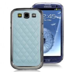 Stilīgs apvalks - gaiši zils (Galaxy S3)