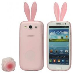 """Rabito"" silikona apvalks - rozs (Galaxy S3)"