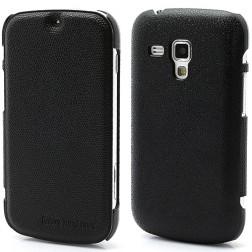 """""""Zozzle"""" atvēramais maciņš - melns (Galaxy S Duos / Trend)"""