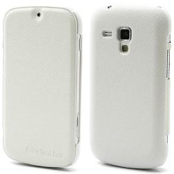 """""""Zozzle"""" atvēramais maciņš - balts (Galaxy S Duos / Trend)"""