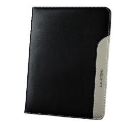 """""""Kalaideng"""" Plume sērijas ādas maciņš - melns (Galaxy Tab 3 10.1)"""