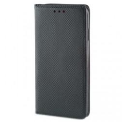 """""""Shell"""" solīds atvēramais ādas maciņš - melns (Galaxy Note 10+)"""