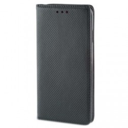 """""""Shell"""" solīds atvēramais ādas maciņš - melns (Galaxy Note 10)"""