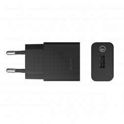 """""""Sony"""" Quick Charger UCH10 sienas lādētājs (1800 mAh / 1700 mAh / 1275 mAh) - melns"""