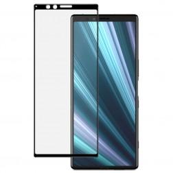 """""""Imak"""" Tempered Glass pilnīgi aizsedzams ekrāna aizsargstikls 0.2 mm - melns (Xperia 1)"""