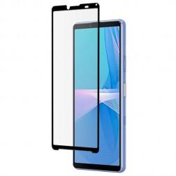 """""""Mocolo"""" Tempered Glass pilnīgi aizsedzams ekrāna aizsargstikls 0.2 mm - melns (Xperia 10 III)"""