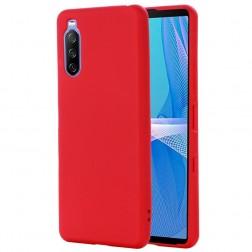"""Shell"" cieta silikona (TPU) apvalks - sarkans (Xperia 10 III)"