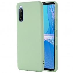 """Shell"" cieta silikona (TPU) apvalks - zaļš (Xperia 10 III)"