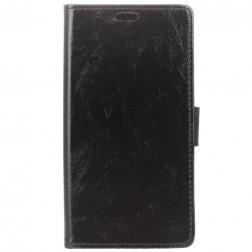 Atvēramais maciņš - melns (Xperia 10 Plus)