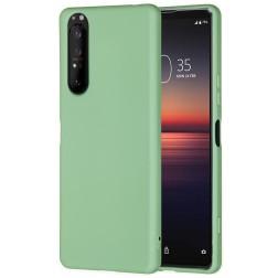 """Shell"" cieta silikona (TPU) apvalks - zaļš (Xperia 1 II)"