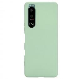 """Shell"" cieta silikona (TPU) apvalks - zaļš (Xperia 5 III)"