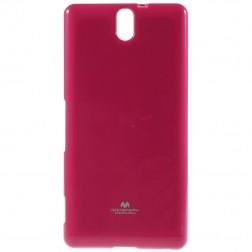 """Mercury"" apvalks - rozs (Xperia C5 Ultra)"