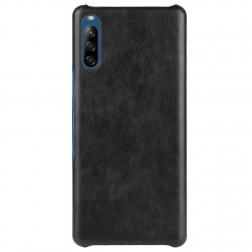 Soft Slim ādas apvalks - melns (Xperia L4)