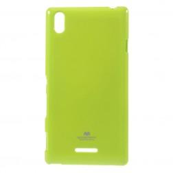 """""""Mercury"""" apvalks - zaļš (Xperia T3)"""