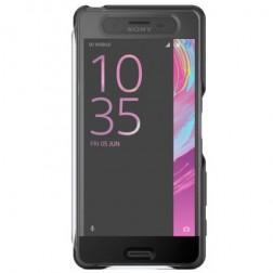 """Sony"" Style Cover Touch origināls atvēramais maciņš - melns (X Performance)"