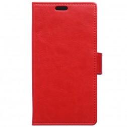Atvēramais maciņš, grāmata - sarkans (Xperia X Performance)