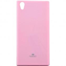 """Mercury"" apvalks - gaiši rozs (Xperia XA1)"