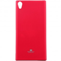 """Mercury"" apvalks - tumši rozs (Xperia XA1)"