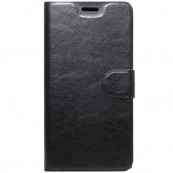 Atvēramais maciņš - melns (Xperia XA1 Plus)