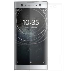 """""""Calans"""" Tempered Glass pilnīgi aizsedzams ekrāna aizsargstikls 0.2 mm - dzidrs (Xperia XA2)"""