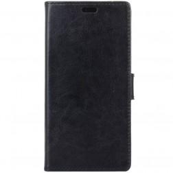 Atvēramais maciņš - melns (Xperia XA2)
