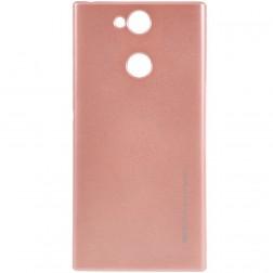 """Mercury"" apvalks - gaiši rozs (Xperia XA2)"