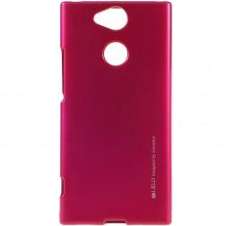 """Mercury"" apvalks - tumši rozs (Xperia XA2)"