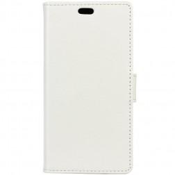 Atvēramais maciņš - balts (Xperia XZ Premium)