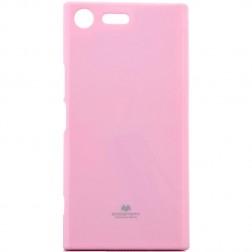 """""""Mercury"""" apvalks - gaiši rozs (Xperia XZ Premium)"""