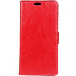 Atvēramais maciņš - sarkans (Xperia XZ Premium)