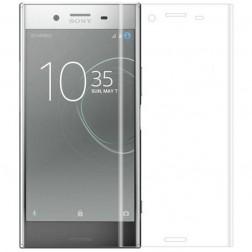 """""""Calans"""" Tempered Glass pilnīgi aizsedzams ekrāna aizsargstikls 0.2 mm - dzidrs (Xperia XZ1)"""