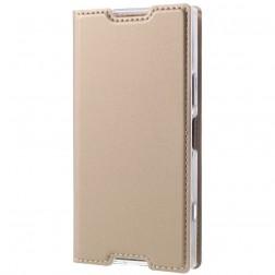 """Dux Ducis"" Skin atvērams maciņš - zelta (Sony Xperia XZ1 Compact)"