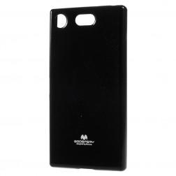 """""""Mercury"""" apvalks - melns (Xperia XZ1 Compact)"""