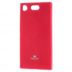"""""""Mercury"""" apvalks - tumši rozs (Xperia XZ1 Compact)"""