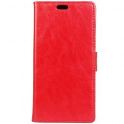Atvēramais maciņš, grāmata - sarkans (Xperia XZ1 Compact)
