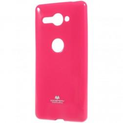 """""""Mercury"""" apvalks - tumši rozs (Xperia XZ2 Compact)"""
