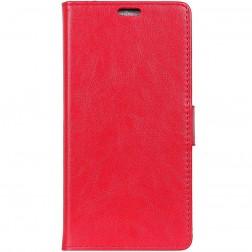 Atvēramais maciņš, grāmata - sarkans (Xperia XZ2 Compact)