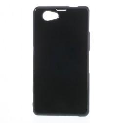 Cieta silikona futrālis - melns (Xperia Z1 compact)