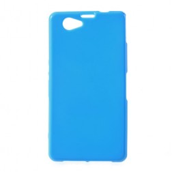 Cieta silikona futrālis - zils (Xperia Z1 compact)