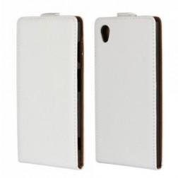 Vertikāli atvēramais maciņš - balts (Xperia Z2)