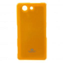 """Mercury"" futrālis - dzeltens (Xperia Z3 Compact)"