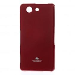 """""""Mercury"""" futrālis - sarkans (Xperia Z3 Compact)"""