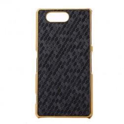 Elegants porains futrālis - melns (Xperia Z3 Compact)