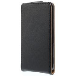 Klasisks atvēramais futrālis - melns (Xperia Z3 Compact)