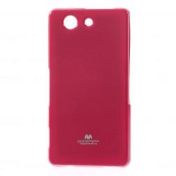 """""""Mercury"""" apvalks - tumši rozs (Xperia Z3 Compact)"""