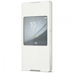 """Sony"" Style Cover Window atvērams maciņš - balts (Xperia Z3+)"
