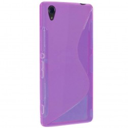 """S-Line"" cieta silikona (TPU) apvalks - dzidrs, violeta (Xperia Z3)"