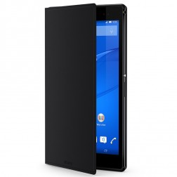 """Sony"" Cover Stand atvēramais maciņš - melns (Xperia Z3 Tablet Compact)"
