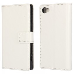 Atvēramais maciņš - balts (Xperia Z5 Compact)