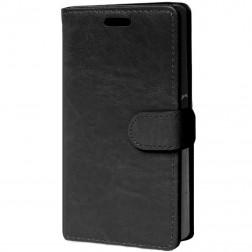 Atvēramais maciņš - melns (Xperia Z5 Compact)